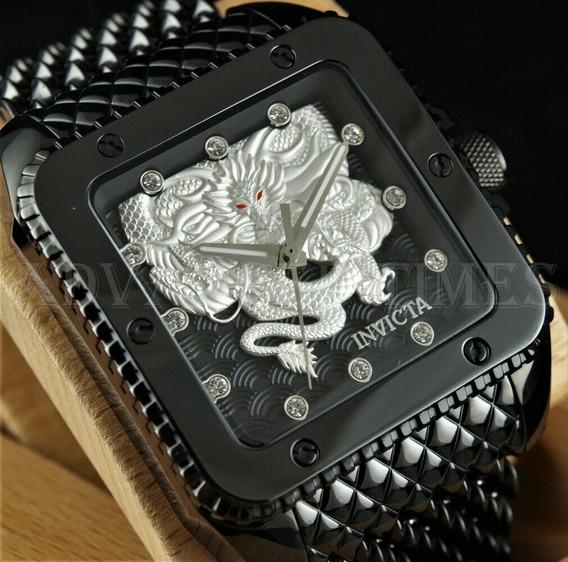 Relógio Invicta Cuadro Automático Original Modelo 28512