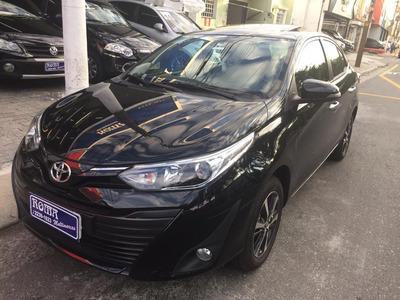 Toyota Yaris Xls 1.5 Auto Flex Teto 1300 Km 12x 7.543 Cartão