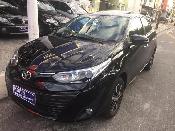 Toyota Yaris Xls 1.5 Automatico Flex Teto Couro Midia