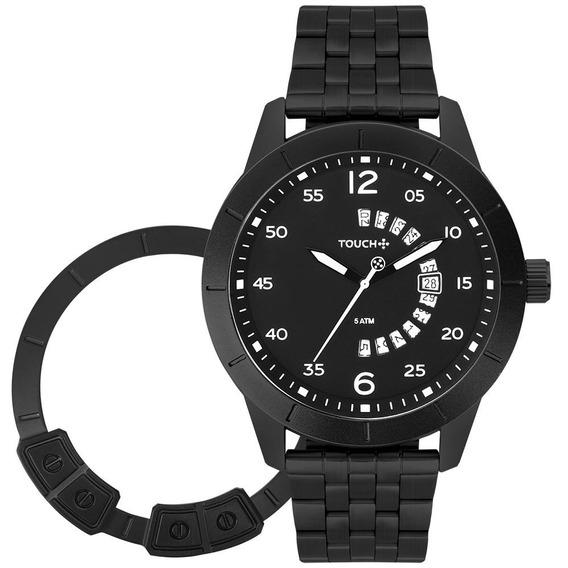 Relógio Touch Masculino 2 Caras Preto Tw2315fl/t4p