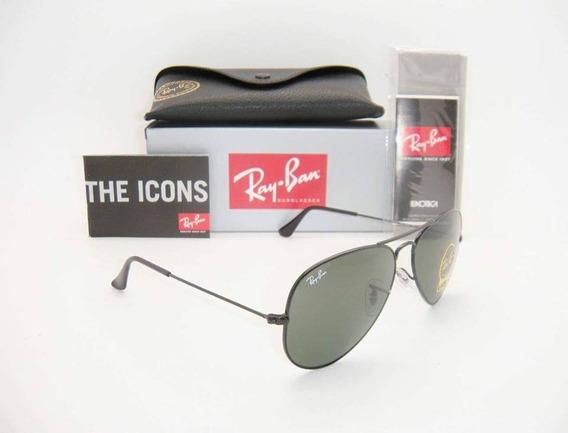 Gafas Ray Ban 100% Originales 3025 L2823 Clásicas Negras