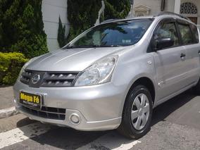 Nissan Livina 1.6 Flex 5p 2012 Prata Completo