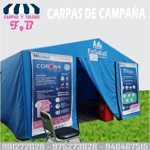 Imagen 1 de 6 de Carpas Toldos F & B   Campamento Llino Impermeable