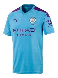 Camisa Man_city Home (19/20) Nova Pronta Entrega