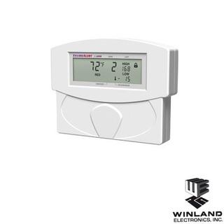 Detector De Temperatura Y Humedad, Capacidad 2 Zonas, Inc...