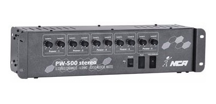 Potência Nca Pw500st Para Som Ambiente - 5x60w Estéreo