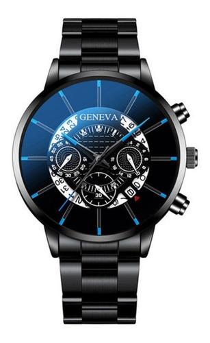 Imagen 1 de 2 de Reloj Impermeable De Color De Acero De Tungsteno Para Hombre