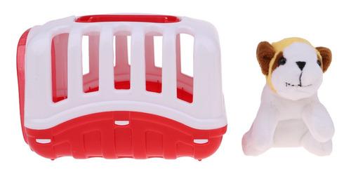 Imagen 1 de 8 de Juguete Pretender Niños Miniatura Jáula De Mascota Con