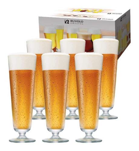 Imagem 1 de 5 de Jogo Taça Ritzenhoff Cerveja  Prestige M 510ml 6 Pçs