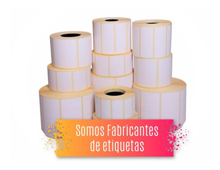 Etiquetas 50 X 25 Mm Etiqueta De Termica Mercado Full