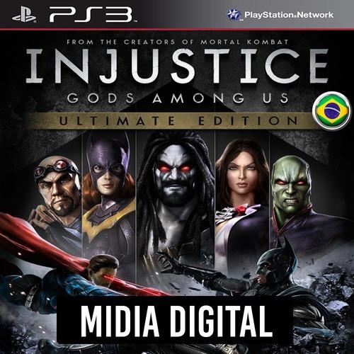Ps3 Psn* - Injustice Gods Among Us Ultimate Dublado