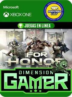 For Honor - Xbox One Modo Local + En Linea