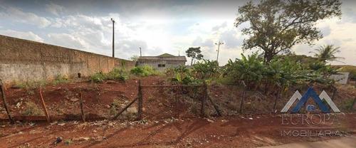 Terreno À Venda, 2026 M² Por R$ 1.150.000,00 - Paraíso - Londrina/pr - Te0372