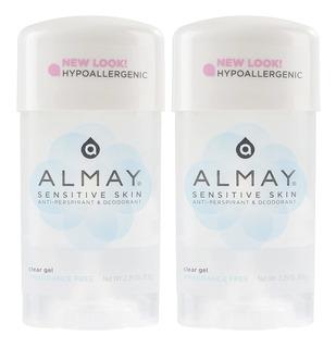 Almay Desodorante Antitranspirante En Gel Transparente, Sin