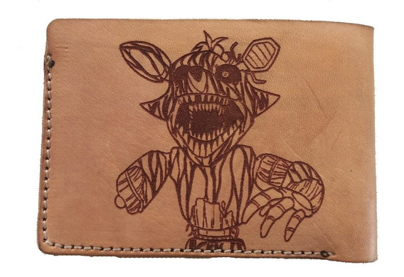 Billetera Para Fans De Five Nights At Freddy Cuero Vacuno