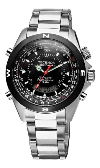 Relógio Technos Performance Skydiver Pilot T20560/1p