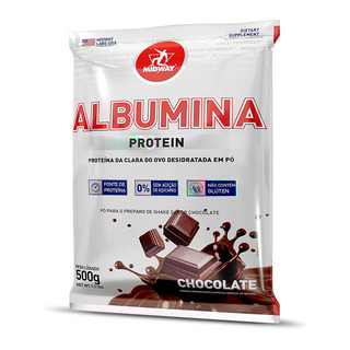 Albumina 500 G Chocolate Midway Labs