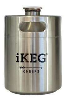 Barril Growler Inox 2 Litros - Ikeg