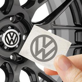 Adesivo Calotinha Emblema 5 X 5cm Volkswagen Gol Golf Jetta