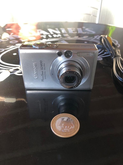 Câmera Digital Canon Powershot Sd 600