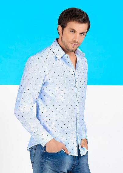 Camisas Azul 1405217 Ferrato