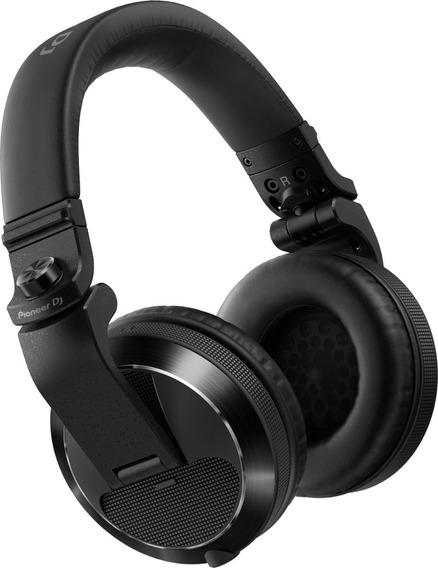 Fone De Ouvido Pioneer Dj Headphone Hdj X7 Preto Hdj-x7-k
