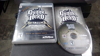 Guitar Hero Metallica Completo Para Play Station 3