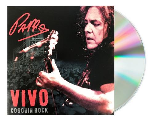 Imagen 1 de 5 de Pappo - Vivo En Cosquin Rock - Cd / Álbum Nuevo