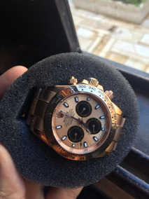 Relógio Rolex Daytona Automático Safira Inox - Impecável.