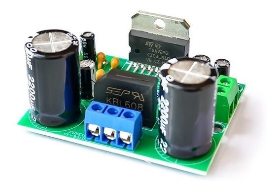 Tda7293 Placa Amplificador Potência De Áudio 100w Mono