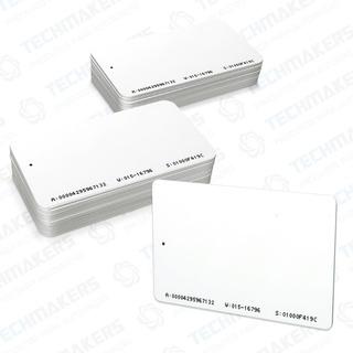 Kit Cartão Cracha De Proximidade Rfid 125khz - 100 Unidades