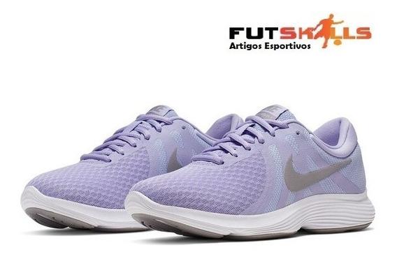 Tênis Nike Revolution 4 Feminino - Lilás