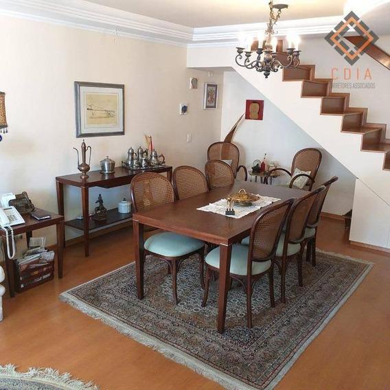 Cobertura Com 4 Dormitórios À Venda, 445 M² Por R$ 2.520.000,00 - Campo Belo - São Paulo/sp - Co1229