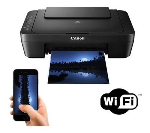 Impresora Canon Mg3010 Wifi Con Sistema De Tinta Continua