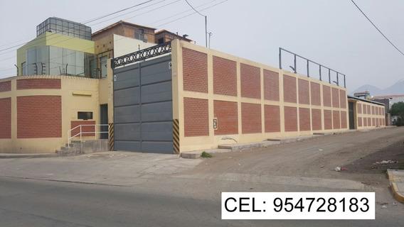 Alquilo Local Industrial De 1000 M2, Para Industria/almacen