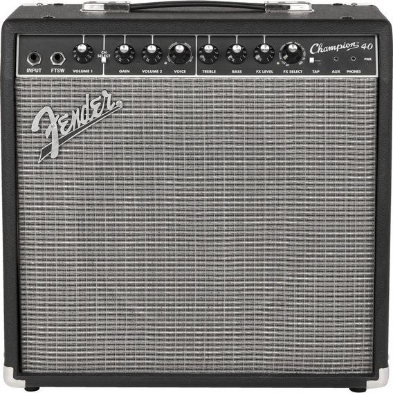 Amplificador De Guitarra Eléctrica Fender Champion 40