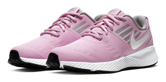 Zapatillas Running Mujer Nike Star Runner(gs) Pink Rise 26cm