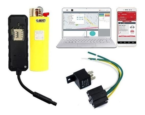 Rastreador Crx3 Mini + Plataforma + App + Chip M2m