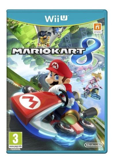 Jogo Novo Lacrado Corrida Mario Kart 8 Para Nintendo Wii U