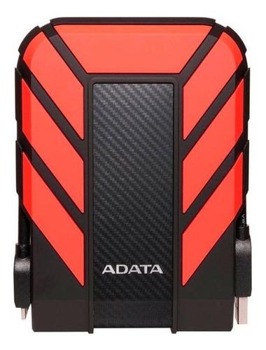Disco rígido externo Adata HD710 Pro AHD710P-1TU31 1TB vermelho