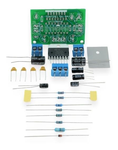 Kit Para Montar Amplificador 100w Com Tda7294