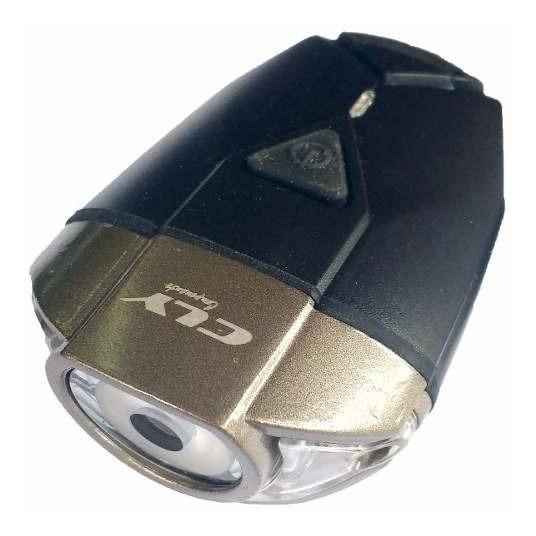 Farol Bike Lanterna Usb Led 300 Lumens Vista Light Cly