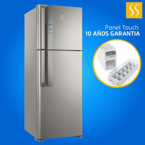 Refrigeradora Electrolux Inox No Frost 431lt Inverter Panel