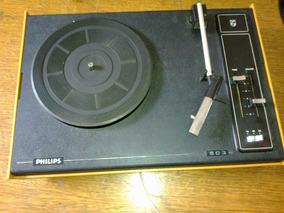 Vitrola Philips Mod 503 Bonita E Funcionando