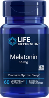 Life Extension Melatonin, 10 Mg, 60 Cápsulas Vegetales | Do