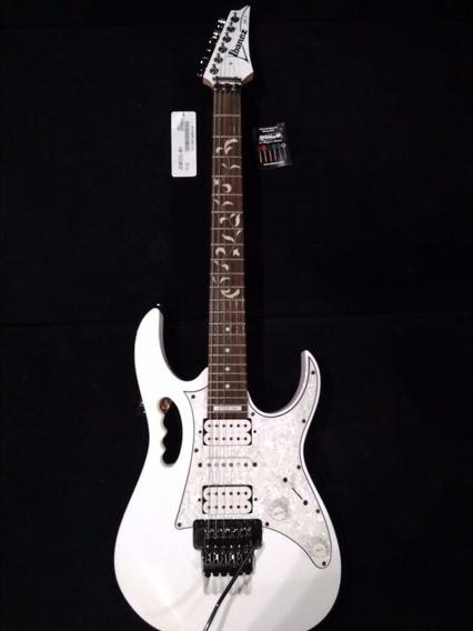 Guitarra Ibanez Steve Vai Jem 555 Wh - Branca Dimarzio Ev.