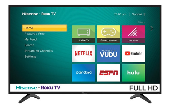 Pantalla Smart Tv Roku 40 Pulgadas Led Full Hd Hdmi Usb /e