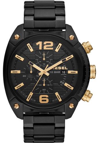 Relógio Diesel Masculino Overflow Cronógrafo Dz4504/1pn