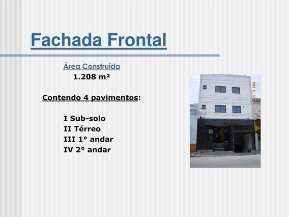 Predio Comercial Para Venda No Bairro Centro - 8726agosto2020