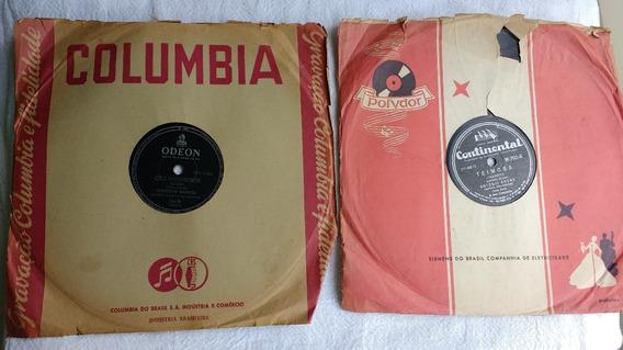 Discos Velhos De Música, 78 Rotações Para Gramofone